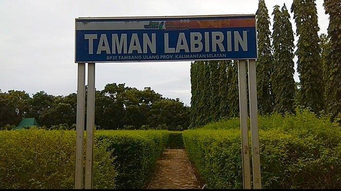 Taman Labirin Desa Sungai Jelai Kabupaten Tanahlaut, Awalnya Kawasan PenelitianDibangun Sejak 2013