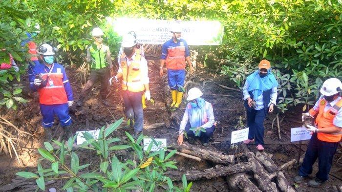 Warga Desa Langadai Kabupaten Kotabaru Senang Perusahaan Turut Jaga Lingkungan