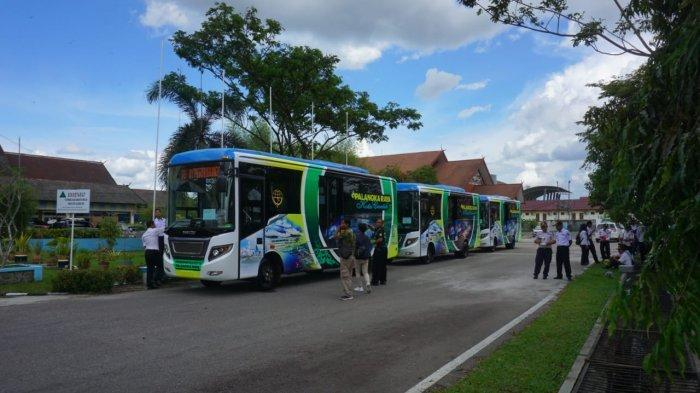 Wisata Kalteng,Taman Pasuk Kameloh Palangkaraya, Didukung Angkutan Bus Wisata Gratis