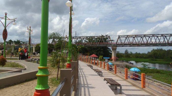 Wisata Kalteng, Tempat Persinggahan Musafir Ada di Taman Pasuk Kameloh Palangkaraya