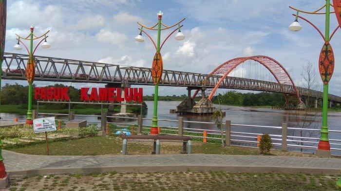 Wisata Kalteng,Taman Pasuk Kameloh Palangkaraya, Konsep Presiden Soekarno Turut Diterapkan