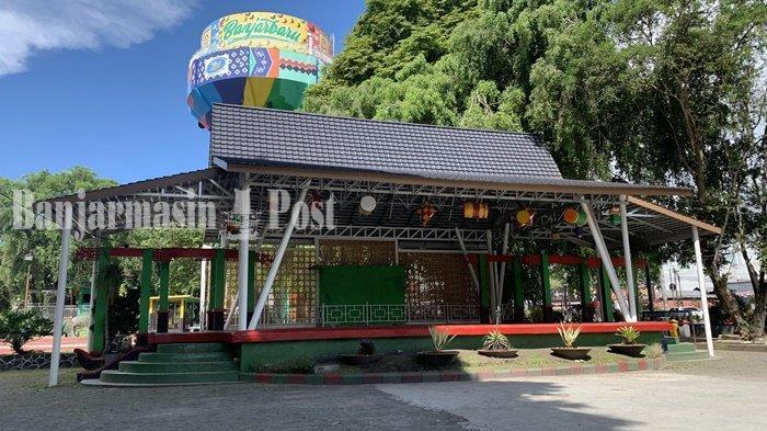 Wisata Kalsel,  Inilah Kondisi Taman Van der Pijl yang Sepi di Masa PPKM Banjarbaru