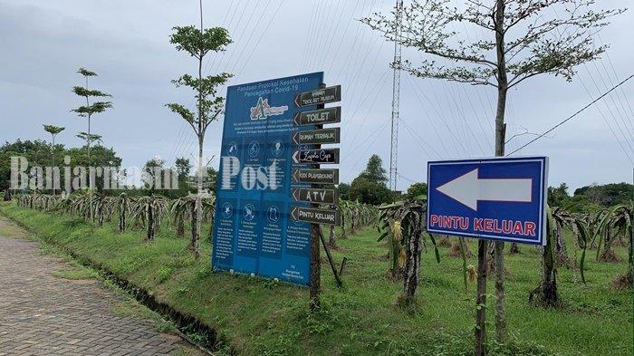 Wisata Kalsel, Petik Buah di Amanah Borneo Park Kota Banjarbaru