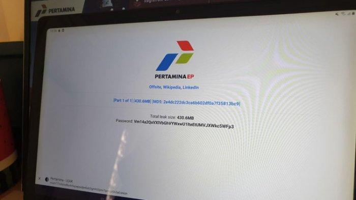 Hacker Ransom EXX Klaim Bobor Sistem PT Pertamina, Data Internal Dibocorkan ke Situs Dark Web