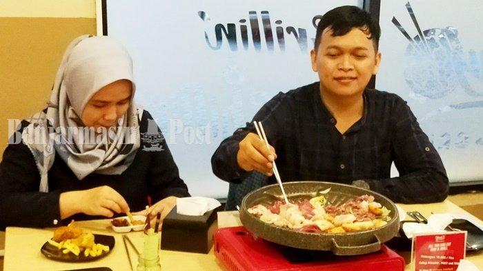Kuliner Kalsel, Boleh Menentukan Rasa Sendiri di Resto Ohayo Suki & Grill
