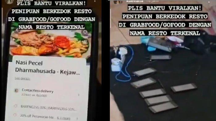 VIRAL di Medsos Penipuan Restoran Abal-abal di Grabfood dan GoFood, Manajemen Grab Bereaksi