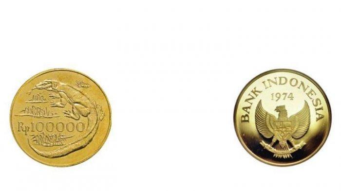 Viral di Media Sosial Uang Logam Rp 100.000, Terbuat dari Emas dan Ini Penjelasan BI