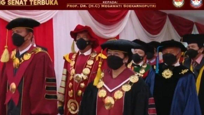 Megawati Dapat Gelar Profesor Kehormatan, Rektor Unhan Sebut Prestasi Sebagai Kepala Negara