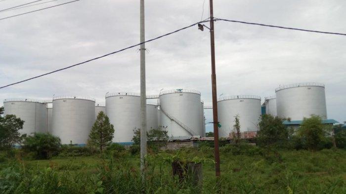 KaltengPedia - Pelabuhan Crude Palm Oil Kotawaringin Timur