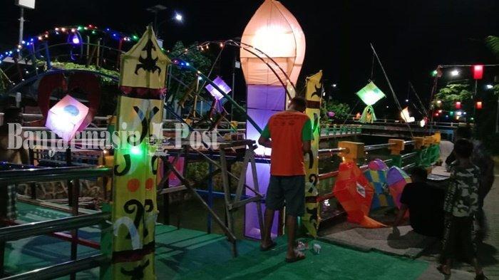 Wisata Kalsel, Lingkungan di Banjarbaru Berhias Tanglong dan Lampion