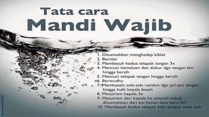 Tata Cara Mandi Wajibatau Mandi Junub di Bulan Ramadhan 2021, Sesuai anjuran Nabi Muhammad SAW