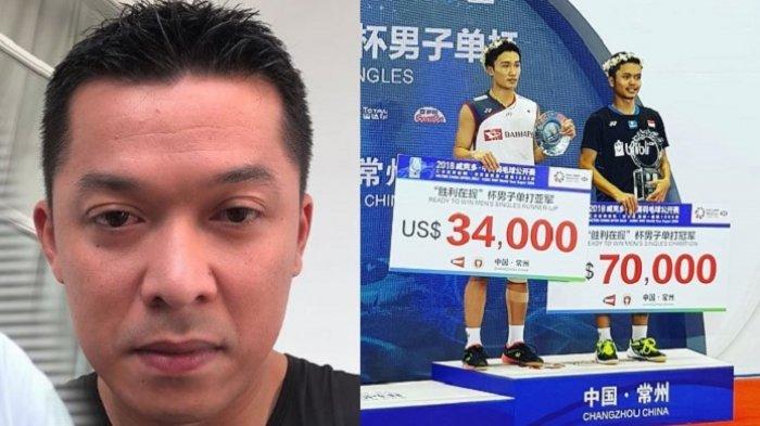 Anthony Ginting Raih Rp 1 Miliar Juara China Open 2018, Taufik Hidayat: Ginting Sedang Menari