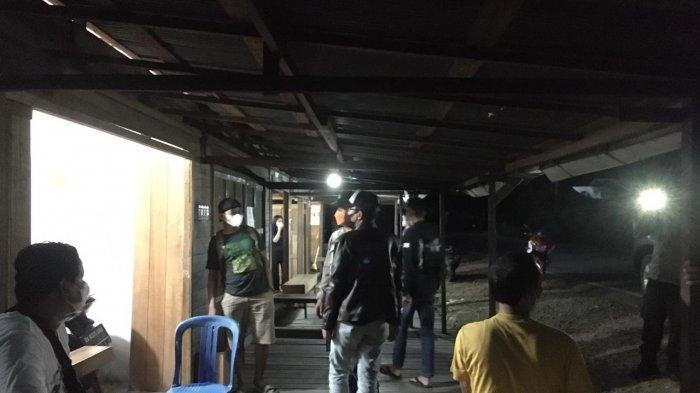 Berantas Premanisme, Team Beat Polsek Paringin Periksa Warung Malam dan Tempat Keramaian