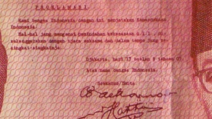 Ini Teks Proklamasi Asli Jelang Peringatan HUT RI ke-74 Pada 17 Agustus 2019