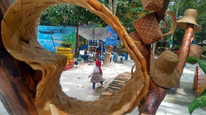 Ada Kedai Kopi dengan Menu Kekinian dan Musik Akustik di Taman Burung Hutan Kota Tabalong