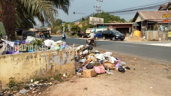Sembilan Desa di Kuripan Kabupaten Barito Kuala Kalimantan Selatan Minta Tempat Pembuangan Sampah