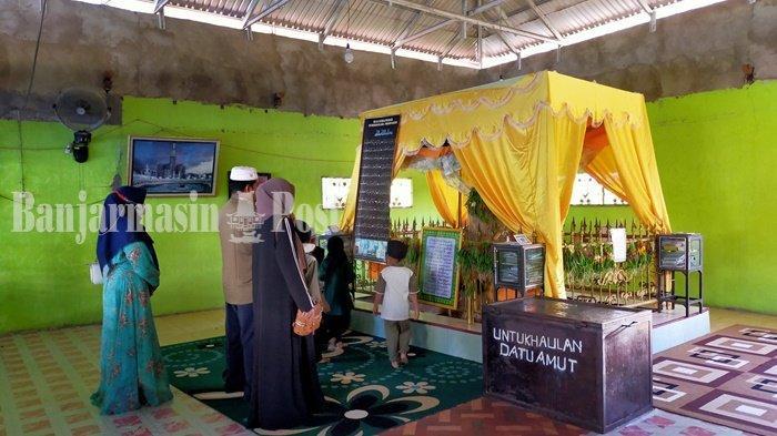 Ramadhan, Makam Datu Amut Kabupaten HSU Ramai Diikunjungi Warga