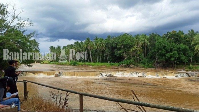 Tempat Wisata Manggasang Kabupaten HST Buka, Pengunjung Sepi Hari Kedua Idul Fitri 1442 H