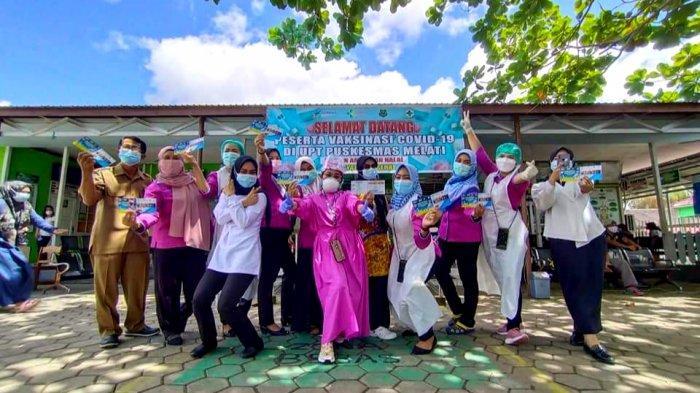 Vaksinasi Covid-19 di Kapuas Kalteng, Memasuki Minggu Ketiga 1.783 Nakes Sudah Divaksin Tahap I