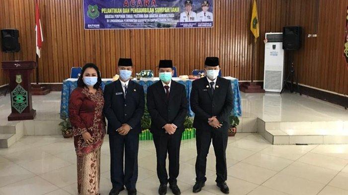 Resmi Dilantik, Kini Teras Pimpin Dinas PUPR-PKP Kabupaten Kapuas Kalteng