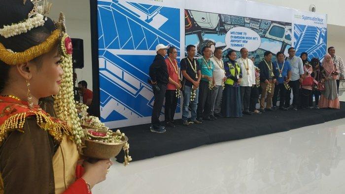 Tiba dari Jakarta-Banjarmasin di Terminal Baru Syamsudin Noor, Heru Senang Rasakan Fasilitas Megah