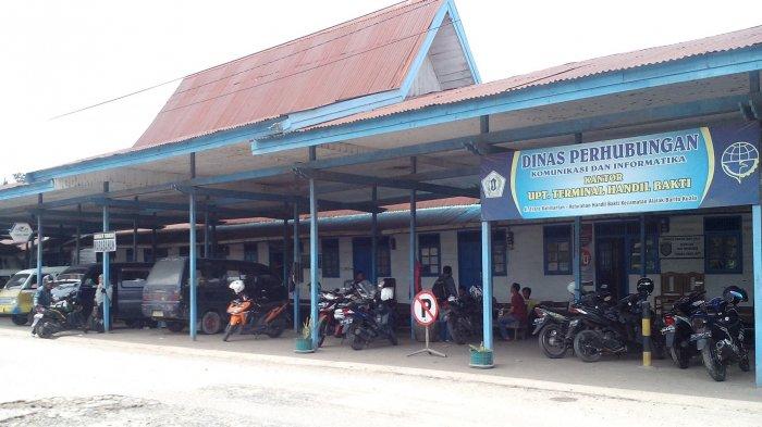 YTH Bupati Batola dan Dinas Pasar, Tolong Benahi Terminal Handil Bakti, Jadi Wadah Gepang