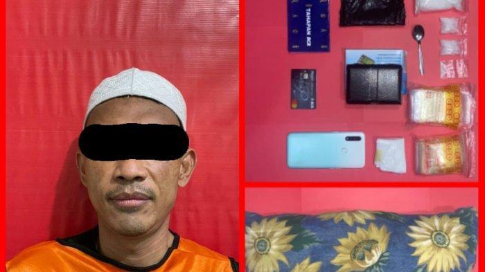 Narkoba Kalsel, Simpan Sabu dalam Bantal, Warga Kelayan B Banjarmasin Kini Mendekam di Sel