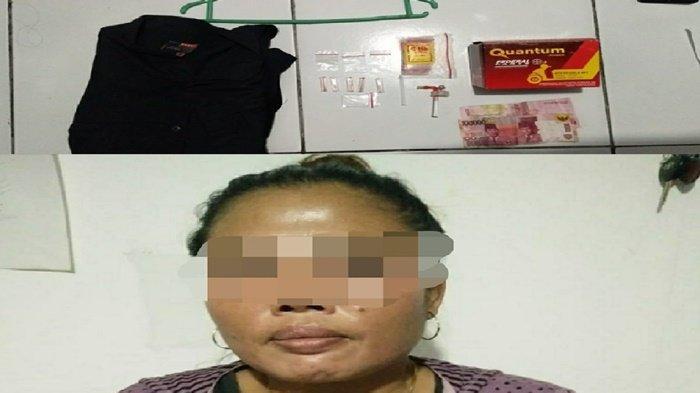 Petugas Polsek Banjarbaru Barat Tangkap Pengedar Narkotika di Landasan Ulin Timur
