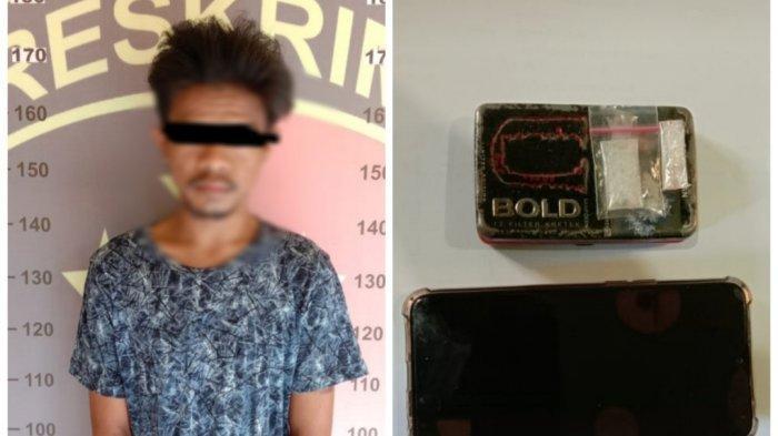 Narkoba Banjarmasin, Polisi Gerebek Kediaman Tersangka Pemilk Sabu di Pekauman