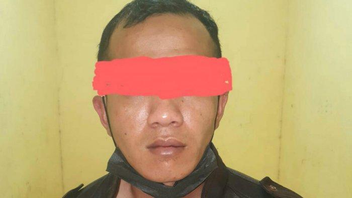 Narkoba Kalsel, Dilaporkan Warga, Pengedar Sabu Dibekuk Petugas Gabungan Polres Kotabaru di Jalan