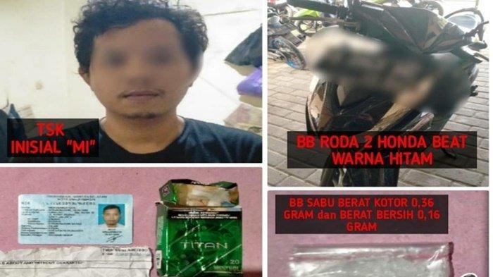 Narkoba Kalsel, MIL Akui Beli Sabu Di Banjarmasin, Penjualnya Dalam Pengejaran