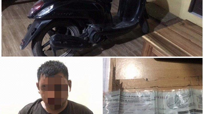 Bawa Kabur Uang Pengusaha Show Room Motor, Pelaku Ditangkap di Binuang Tapin Kalsel