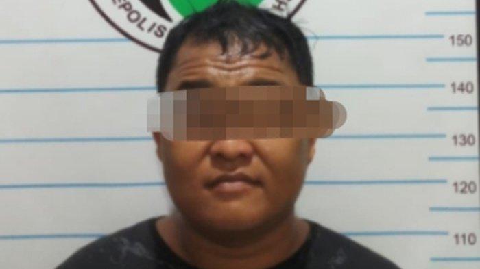 Sopir Ini Edarkan Sabu Ditangkap Polisidi Pantai Hambawang Barat Kabupaten Hulu Sungai Tengah Kalsel