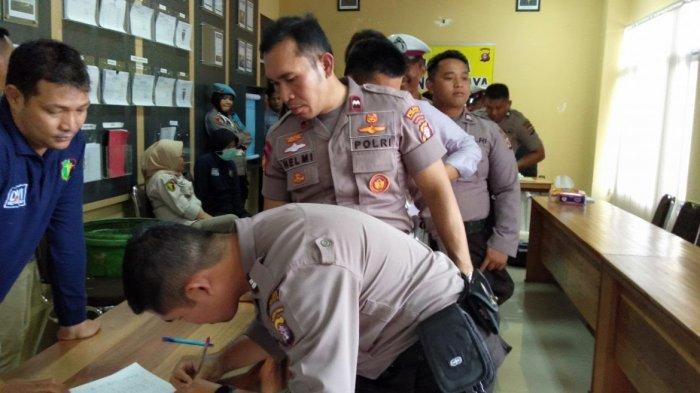 Tim Mabes Polri Turun Langsung Periksa Urine Polisi Palangkaraya, Ini Harapan Kapolres AKBP Timbul