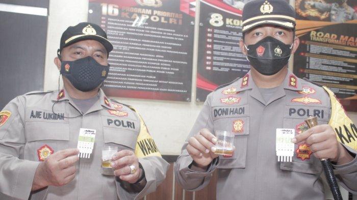 Digelar Acak, Hasil Tes Urine Anggota Polres Banjarbaru Negatif