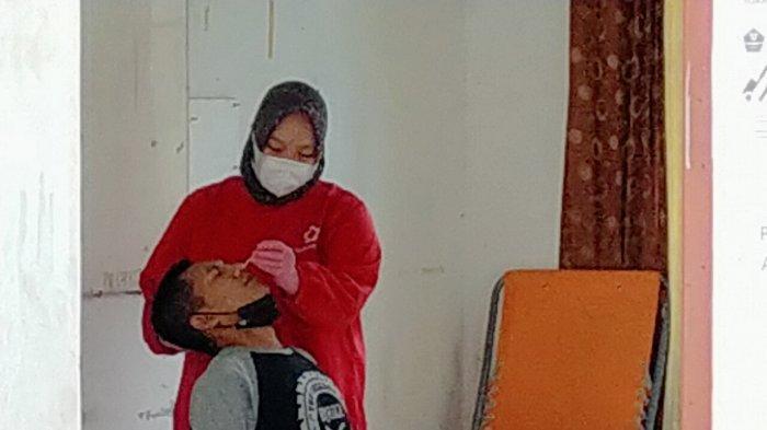 Tak Kenakan Masker, Puluhan Pengunjung Kafe di Palangkaraya di Tes Swab PCR dan Antigen