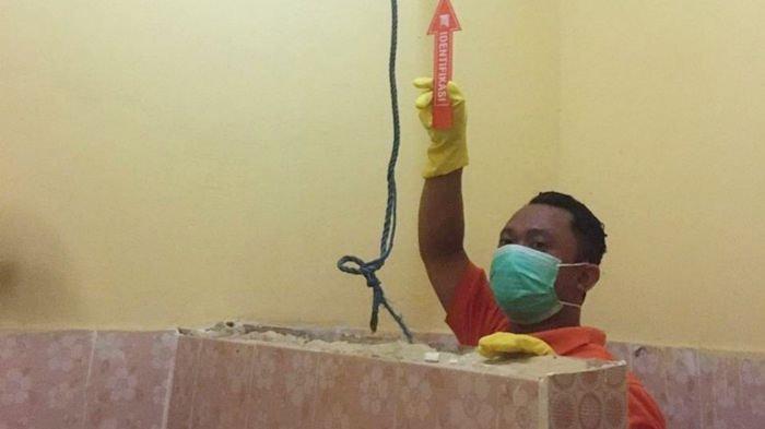 Jasad Warga Batulicin Kabupaten Tanbu Ditemukan dalam Keadaan Tergantung