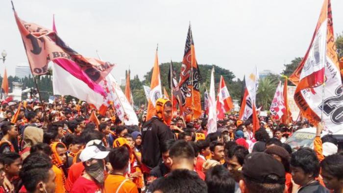 Persija Jakarta Ancam Mundur dari Liga 1 2021, Jika The Jak Mania Langgar Protokol Kesehatan