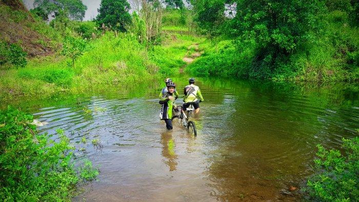 Gowes Belatup Part 2 di Pelaihari Lintasi Sungai dan Danau