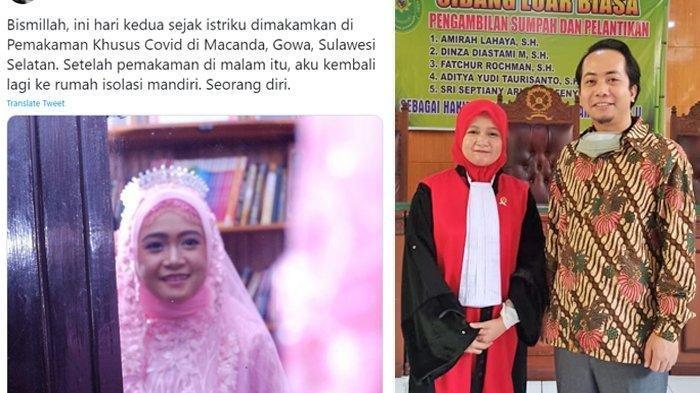 Kisah Haru Suami Ditinggal Istri Tercinta Karena Covid 19 Kau Mati Sekali Tapi Hidup Selama Lamanya Banjarmasin Post