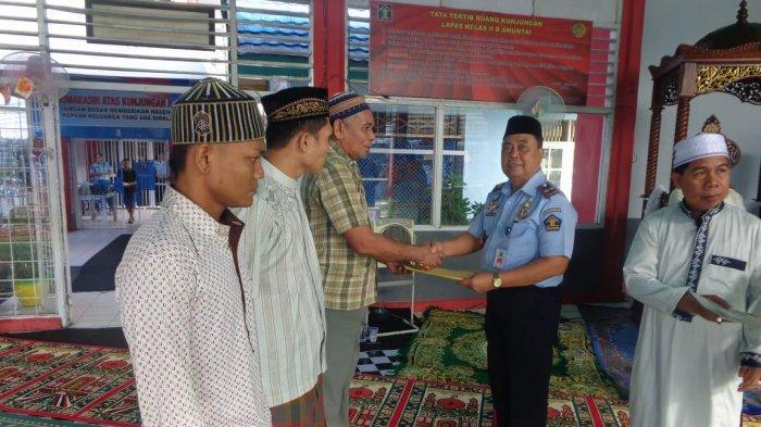 233 Napi Lapas Amuntai Dapat Remisi, Tiga Orang Langsung Bebas di Hari Lebaran Idul Fitri