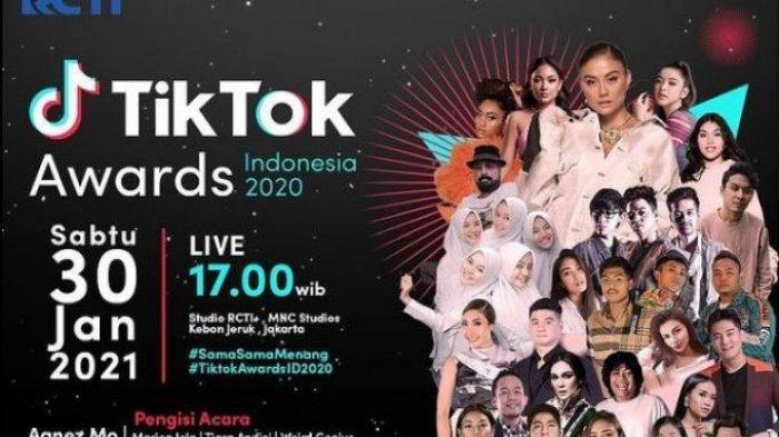 Link Video Streaming TikTok Awards Indonesia 2020 di RCTI, Marion Jola dan Inul Daratista Bersaing