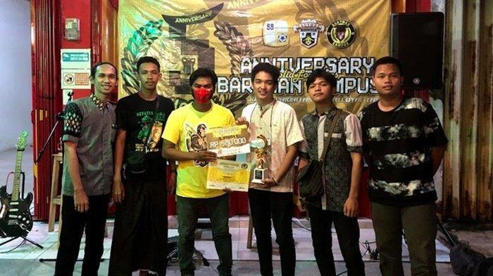 Tim Asal Banjarbaru 5OT Juara Turnamen Mobile Legends HUT ke-5 Bartman Campus
