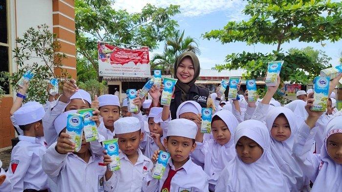Aksi Pemulihan Dampak Kabut Asap, ACT Disambut Bahagia Warga Banjarbaru