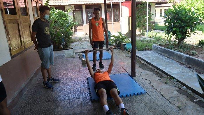 Pasca Lebaran, Tim Atletik Tabalong Latih Kekuatan, Kecepatan dan Daya Tahan Jelang Kejuaraan