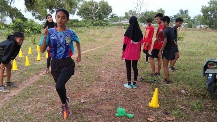 Tim Atletik Tanahbumbu Targetkan Lima Medali Emas di Popda Kalsel 2021