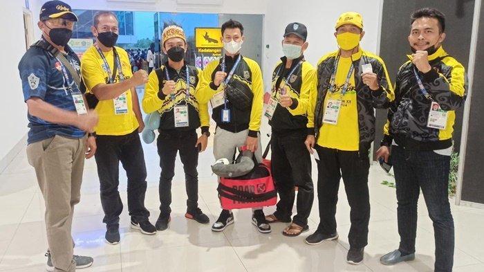Tim Balap Motor PON Kalsel Tempuh 29 Jam untuk Tiba di Merauke Papua