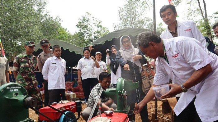 DPRD Balangan Harapkan Tekhnologi untuk Desa Binjai Punggal Tingkatkan Ekonomi Masyarakat