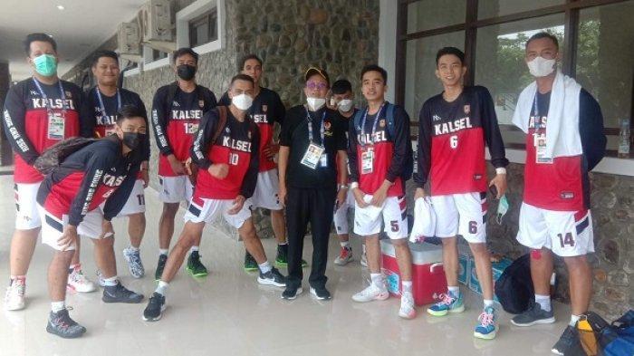 Tak Pernah Menang, Tim Bola Basket Putra Kalsel Huni Juru Kunci di Pool A PON XX Papua 2021