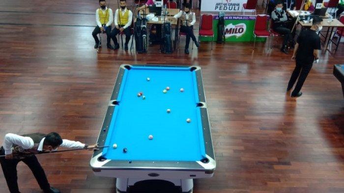 Tim Biliar Kalsel Lolos ke Final PON XX Papua 2021, Lawannya Pemenang Antara Papua vs DIY